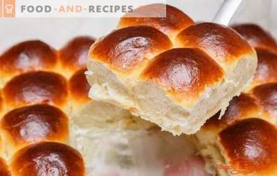 Vanilla buns - the aroma of homemade baking. Recipes for vanilla buns from yeast and cottage cheese dough: according to GOST and at home