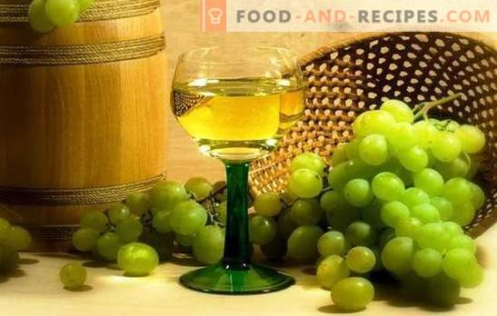 White grape wine: the main stages of making fruit wines. Secrets of home winemaking, the subtleties of white grape wine