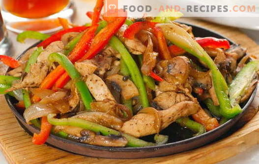 Chicken fricassee - the best recipes. How to properly and tasty cook fricassee from chicken.