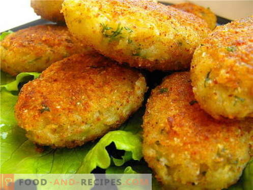 Cabbage patties are the best recipes. How to properly and tasty cook cabbage cutlets.
