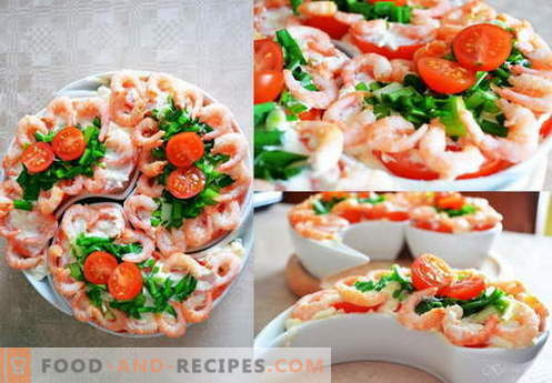 Neptune Salad - the best recipes. How to properly and tasty to cook salad