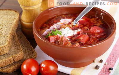 How to cook soup? Teach everyone! Cook borsch with beets, sauerkraut and fresh cabbage, beans, sorrel, and you can with sprat