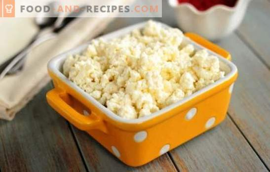 Cooking tender cottage cheese in a slow cooker from sour milk. How to make cottage cheese in a slow cooker from milk, recipes with it