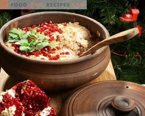 Satsivi - the best recipes. How to properly and tasty cook satsivi.