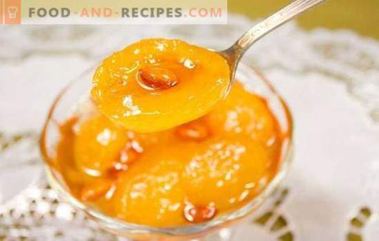 Apricot jam with kernels - daily,