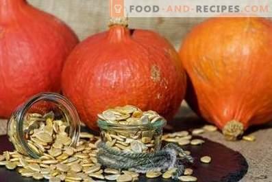 How to store pumpkin seeds