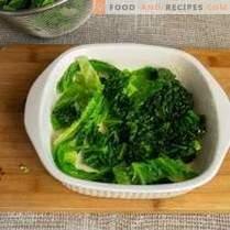 Vegetarian gratin from savoy cabbage