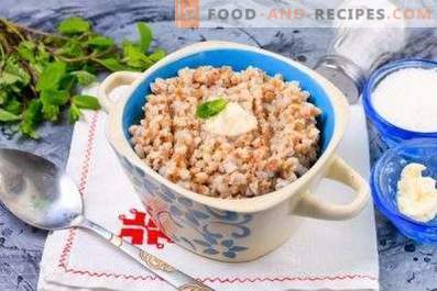 Buckwheat porridge with milk in a slow cooker