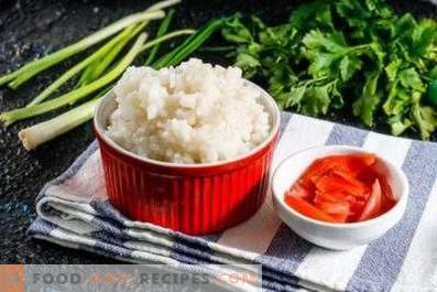 How to cook rice for rolls