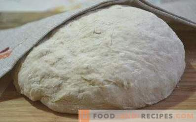 Non-yeast pastry dough