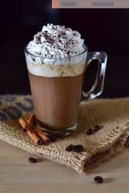 Coffee glaze