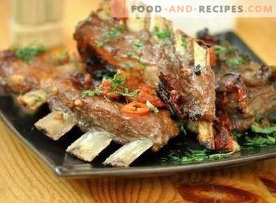 Lamb chops in the oven