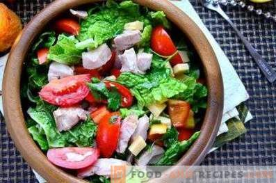 Fresh vegetable salad dressing