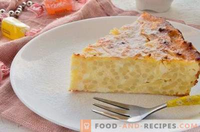 Cottage Cheese Casserole with Noodles