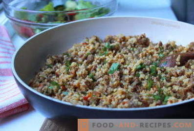 Bulgur with minced meat