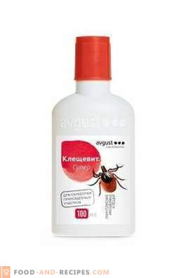 """""""Kleschevit Super"""" - reliable protection of the site from ticks"""