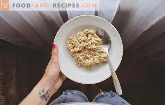 Cooking mistakes oatmeal. Where did the myth that oatmeal come from - tasteless