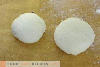 Yeast dough for pies