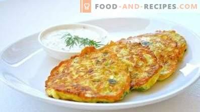 Zucchini and Potato Fritters