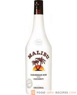 How to drink Malibu liqueur