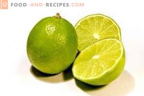 Lime: benefit and harm