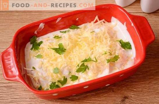 Dumplings baked in the oven is an unusual way of cooking regular meals. Step-by-step photo-recipe of dumplings with potatoes in the oven