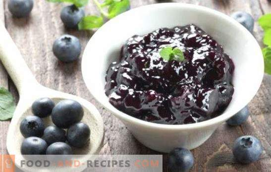 Blueberry jam is a real storehouse of vitamins. Jam from blueberries for the winter will help fight diseases and illnesses